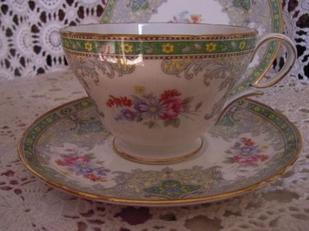 Shelley trio. A little something from my china cabinet