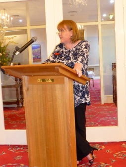 Speaking at the Naval, Military and Air Force Club, South Australia November 2015.