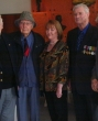 Launch of Jack Davenport Beaufighter Leader. Blue Bernau, Phil Davenport, Kristen, John Ayliffe, Ivor Gordon
