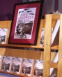 Book display at the Clive Caldwell Air Ace launch